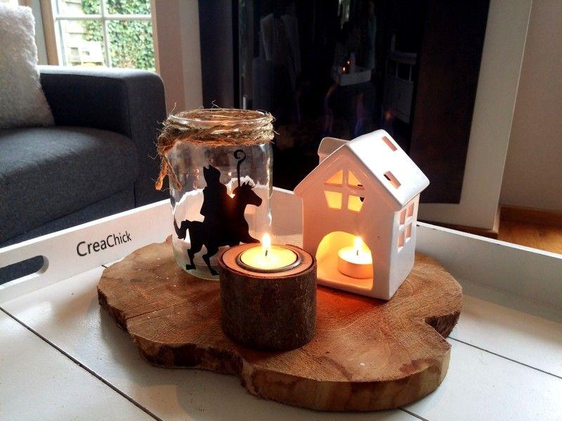 Kaarsjes In Huis : Sinterklaas kaarsje sinterklaas sinterklaas sint nicolaas en