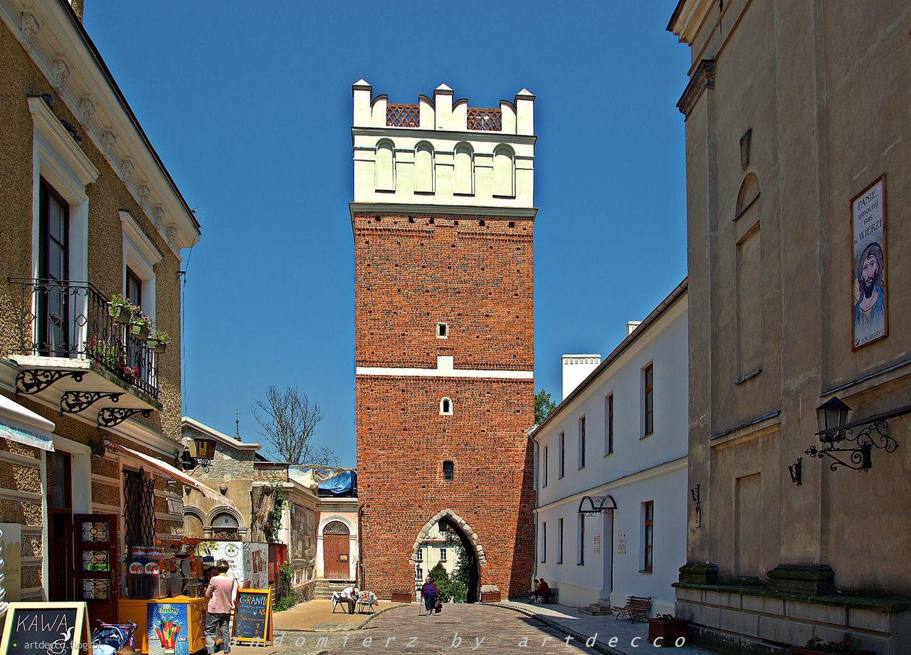 Spacer po pięknym Sandomierzu .