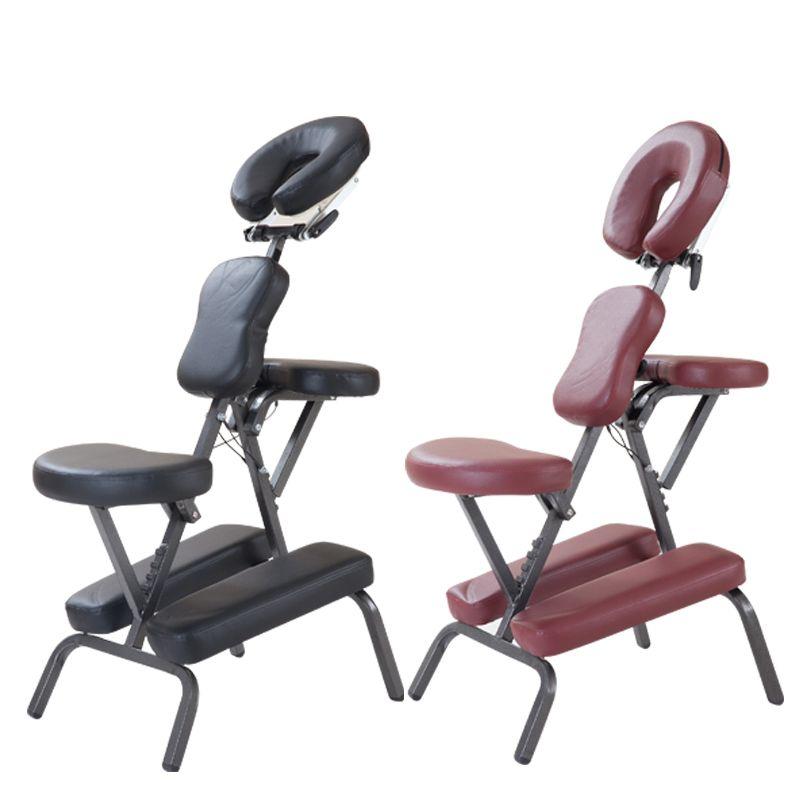 Moderne Draagbare Lederen Pad Massage Stoel Met Gratis