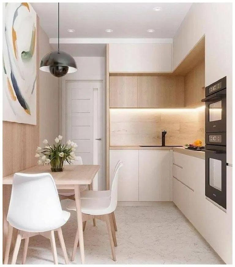 50 Beautiful Small Modern Kitchen Ideas Homedecorsidea Info Minimalist Kitchen Design Small Modern Kitchens Simple Kitchen Design