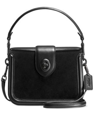 907bee7a COACH Page Crossbody in Mixed Leather | macys.com | Wish List ...
