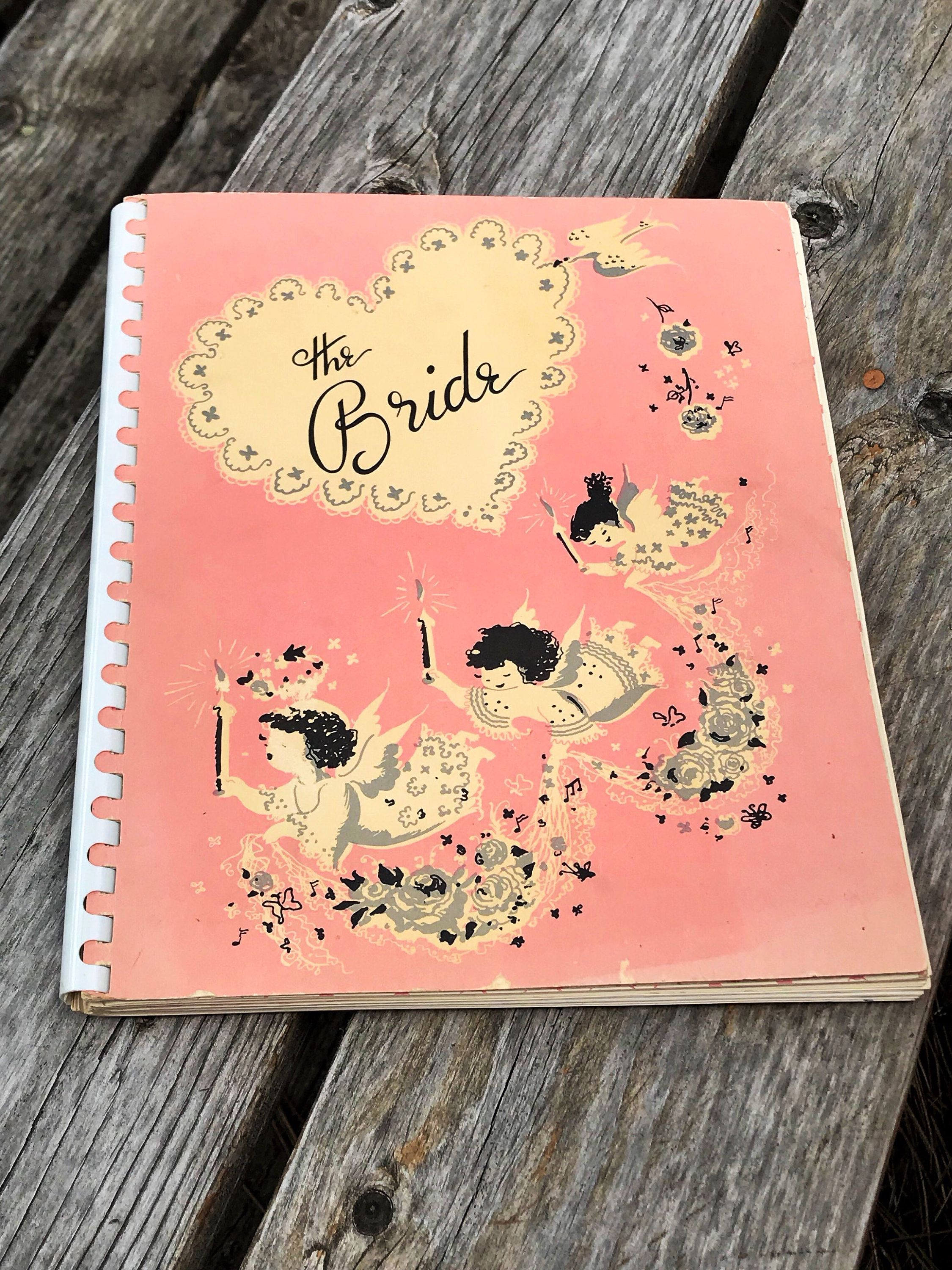 vintage wedding planner mid century modern wedding etiquette bridal shower gift midcentury wedding planning a wedding guide for brides book by thetwoacorns