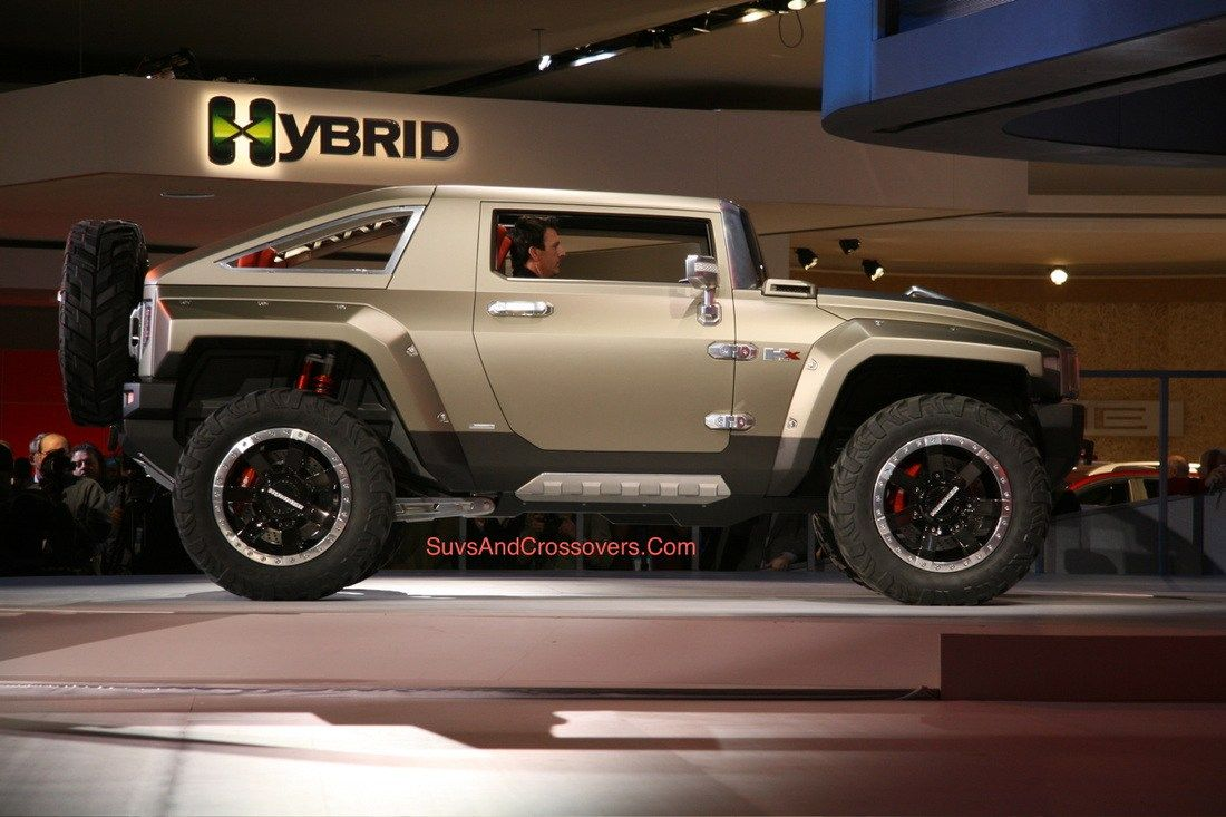 2017 Hummer Hx Concept Price Specifications And Release Date