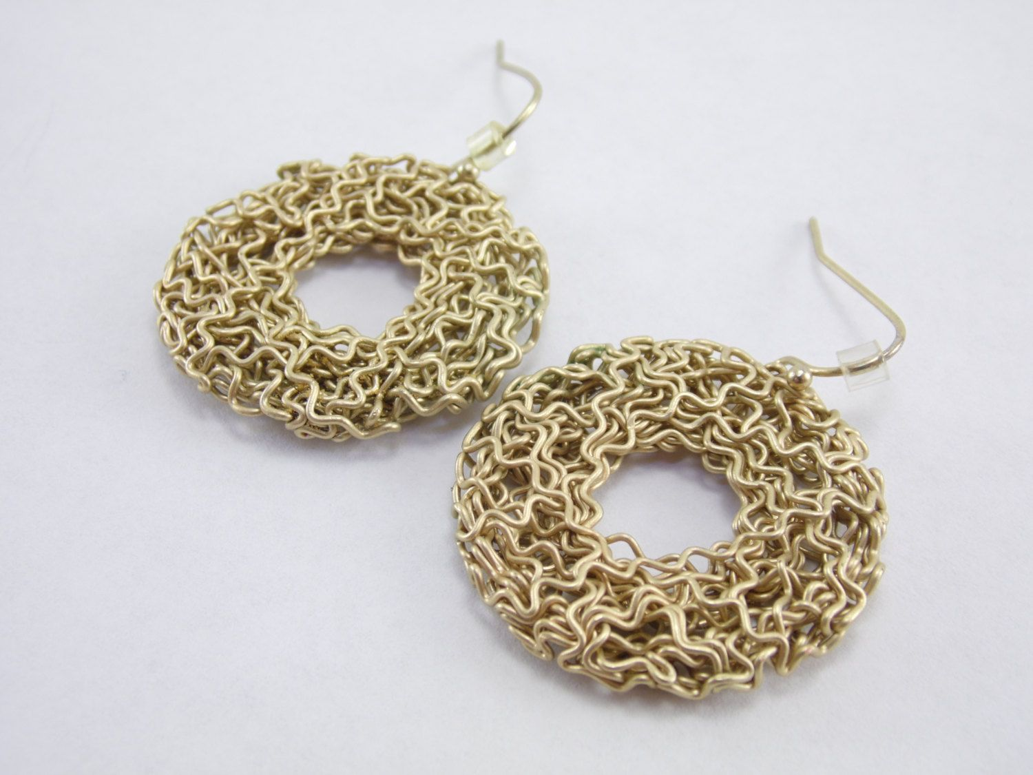Designer- N/A Size- 1 1/4 Inch Diameter Features- Brass wire wrapped ...