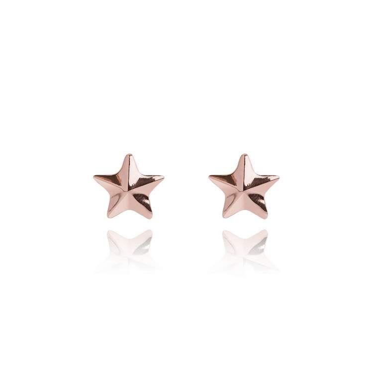 Joma Jewellery - WISH Star Cluster - Silver Stud Earrings nJLJ86e