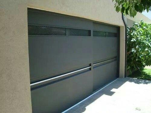 Schiebetür außen garage  Porton   garage   Pinterest