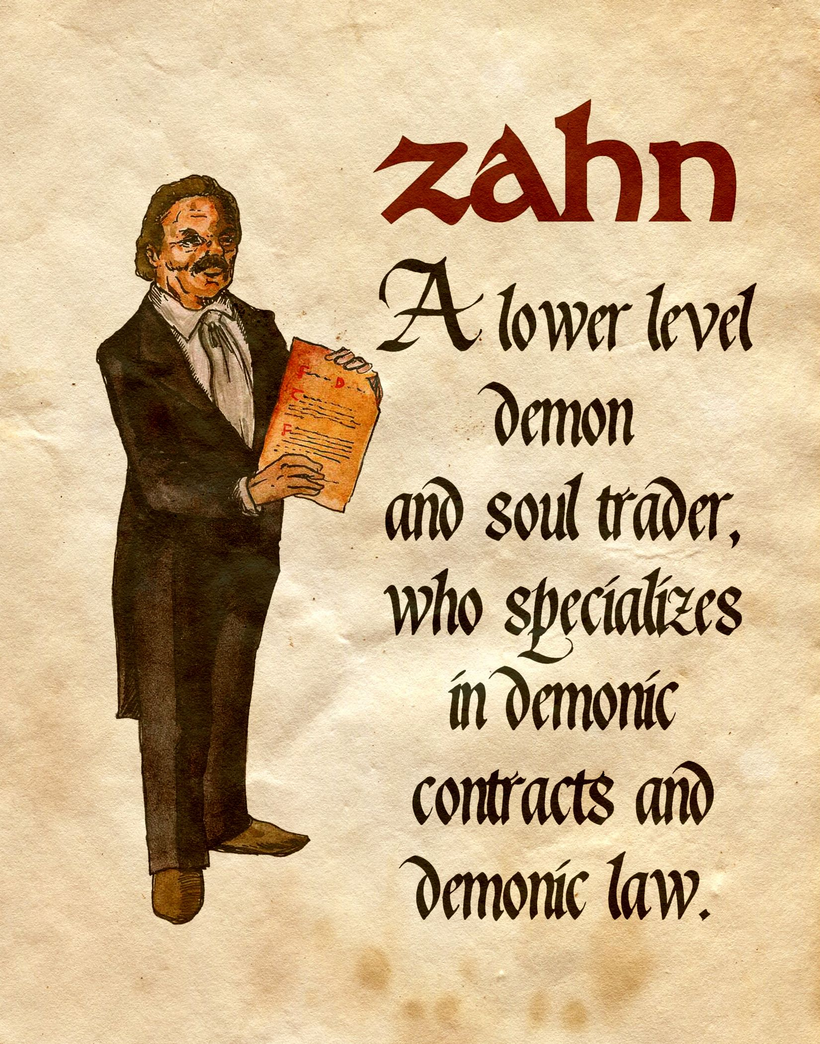 """Zahn"" - Charmed - Book of Shadows"