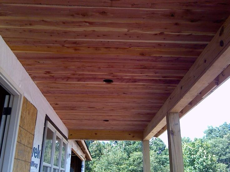 39 Awesome Cedar Planks On Ceiling Images Wood Ceilings Reclaimed Wood Ceiling Outdoor Wood