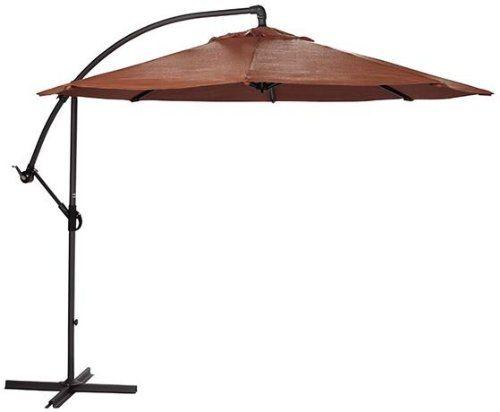 Cantilever 10 umbrella 10diameter terra cotta home decorators collection http