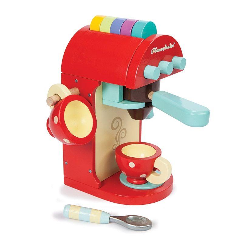 Kinder Kaffeemaschine Aus Holz Von Le Toy Van