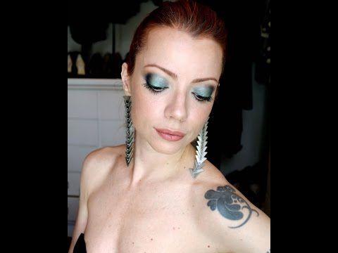 Julia Petit Passo a Passo do Besouro Verde Maquiagem - YouTube