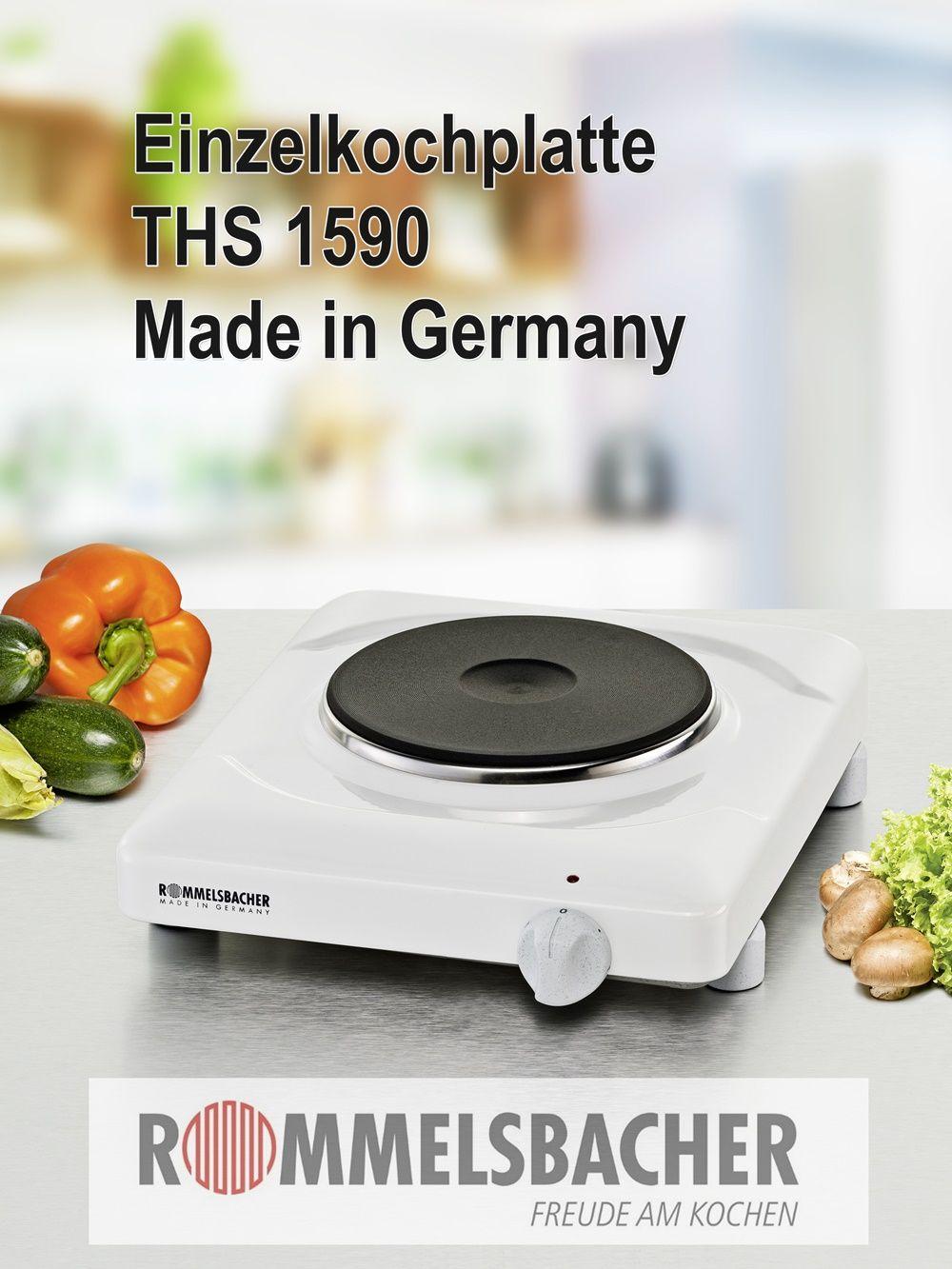 Langlebige Einzelkochplatte Made In Germany Freude Am Kochen Kochen Und Backen Kochen