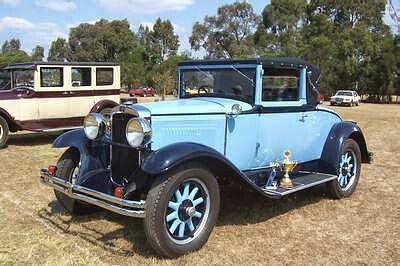 1929 Nash coupe