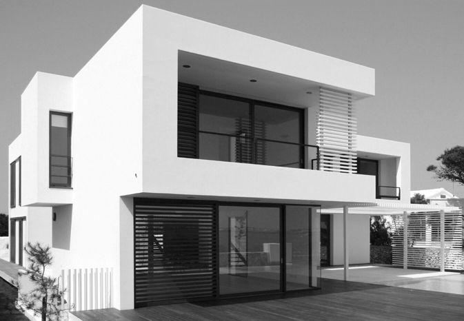 Casas moderno balcon exterior patio puertas dibujos for Fachada de casas modernas con vidrio