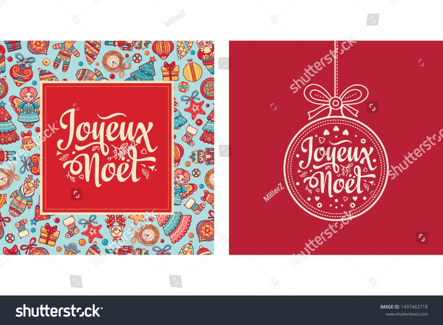 Merry Christmas Card Template French Christmas Happy Holidays Noel Lettering Greeting Card Engl Christmas Card Template Merry Christmas Card Christmas Cards