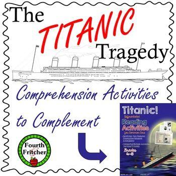 Titanic Comprehension Activities
