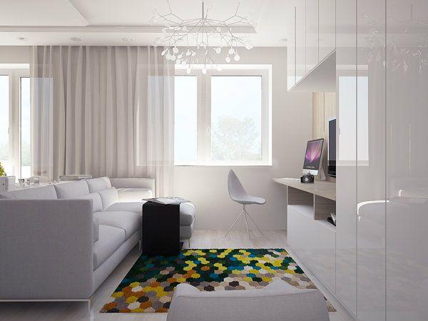 Uređenje stana od 40 kvadrata Ostalo Pinterest
