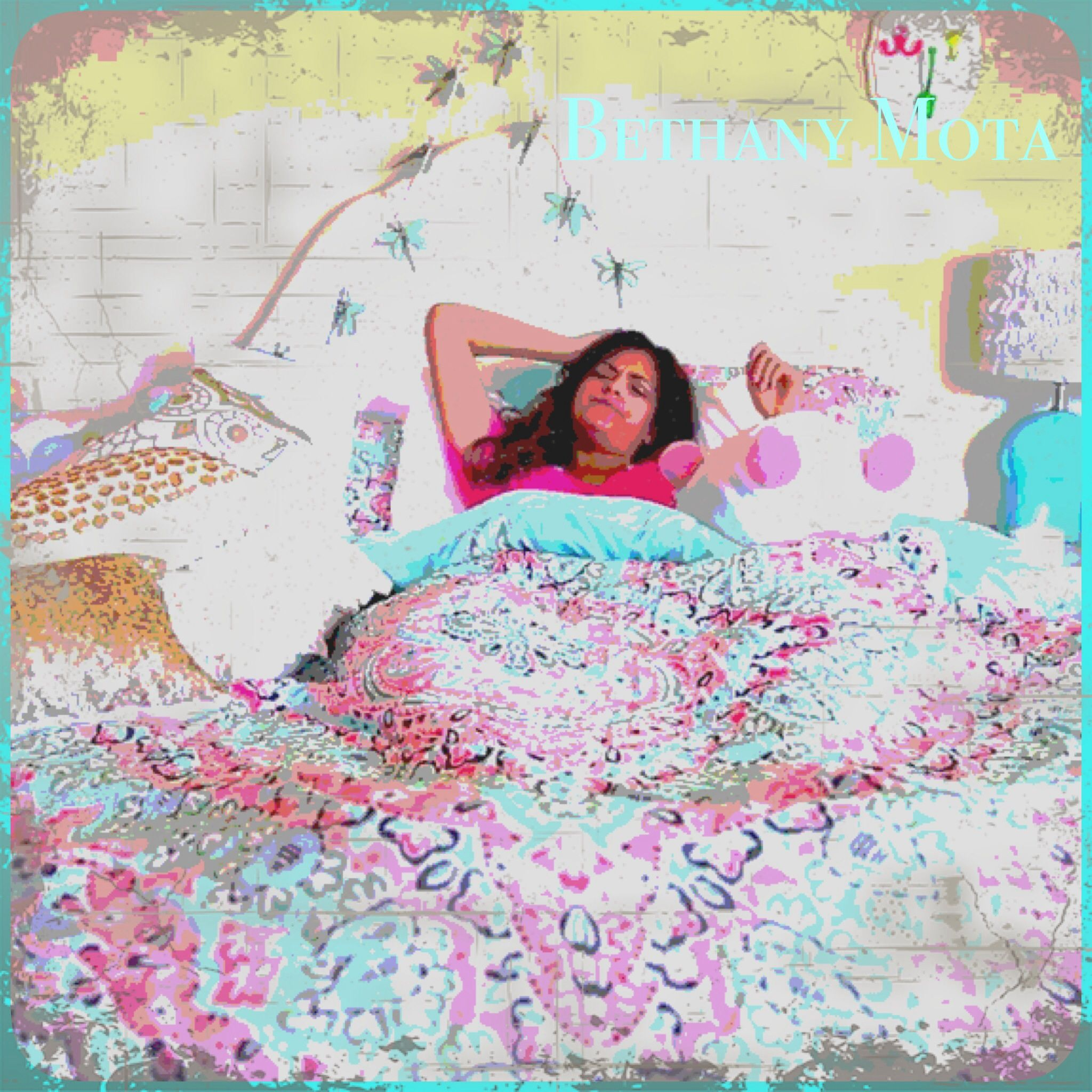 Love her bedding you can get it at bethany mota bedroom