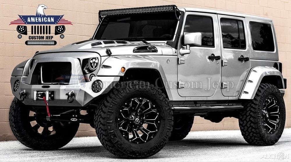 eBay 2018 Jeep Wrangler Custom Unlimited Sport Utility 4