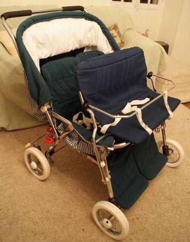 poussette quadruple quad triple double envoi possible puericulture pinterest prams babies. Black Bedroom Furniture Sets. Home Design Ideas