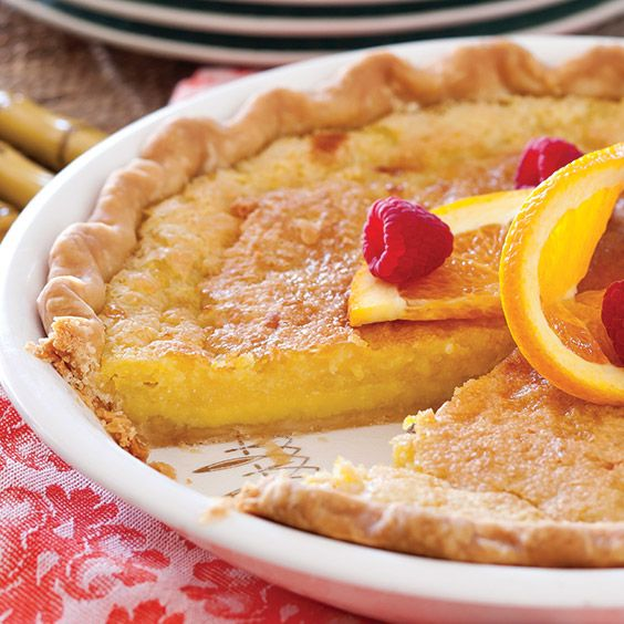Enjoy This Delicious Orange Buttermilk Chess Pie Any Time Of The Year Get Nbsp M Buttermilk Chess Pie Paula Deen Recipes Buttermilk Pie Recipe Paula Deen