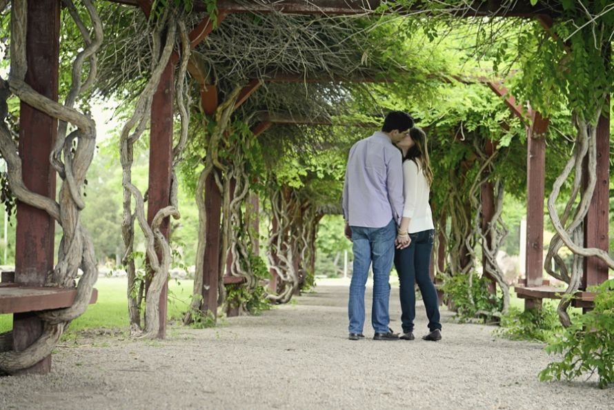 Salt Lake City International Peace Gardens. Vine covered archway ...