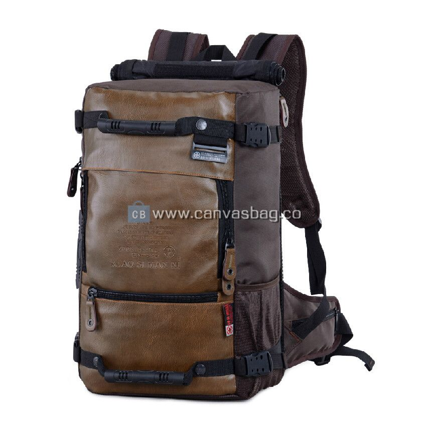 Big Canvas Rucksack Backpack Mens Travel Backpack | Canvases ...
