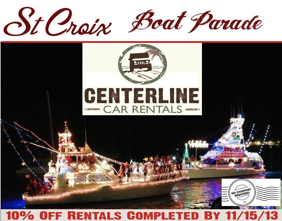 Our Fleet St Croix USVI Rental Cars Boat parade, Car