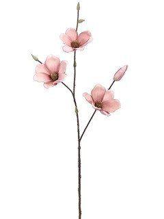 Artificial magnolia spray in mauve pink30 magnolia flower mauve artificial magnolia spray in mauve pink30 mightylinksfo