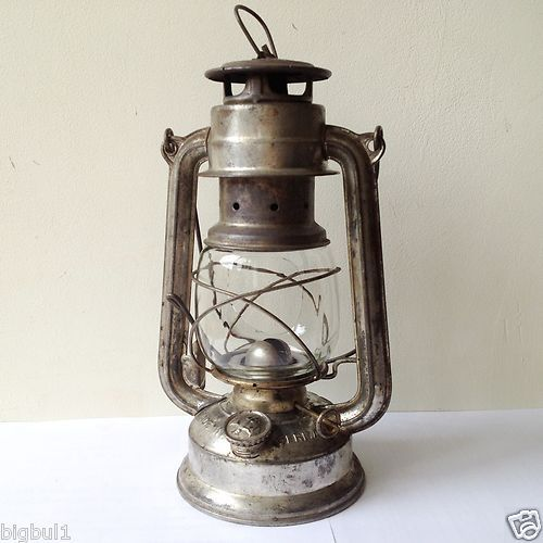 bronze Feuerhand Lampe temp/ête Baby Special 276 276-bronze