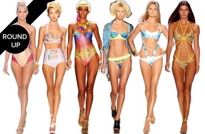 The Hottest Swimsuits for Summer 2013 from Miami Fashion Week: Swim