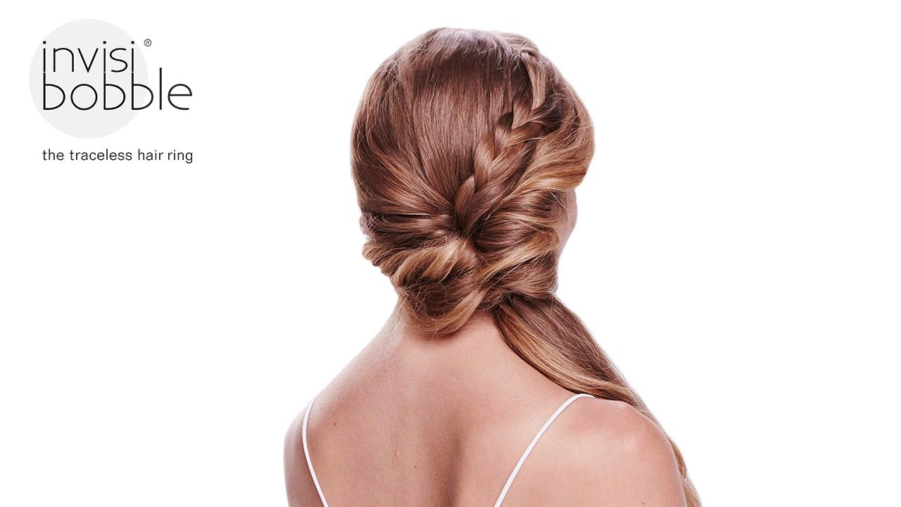 Loop voilà easy invisibobble hair tutorial by jenny strebe alias