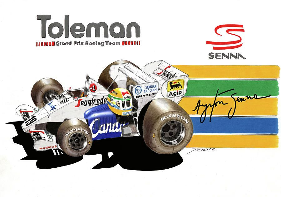 Toleman Background 10