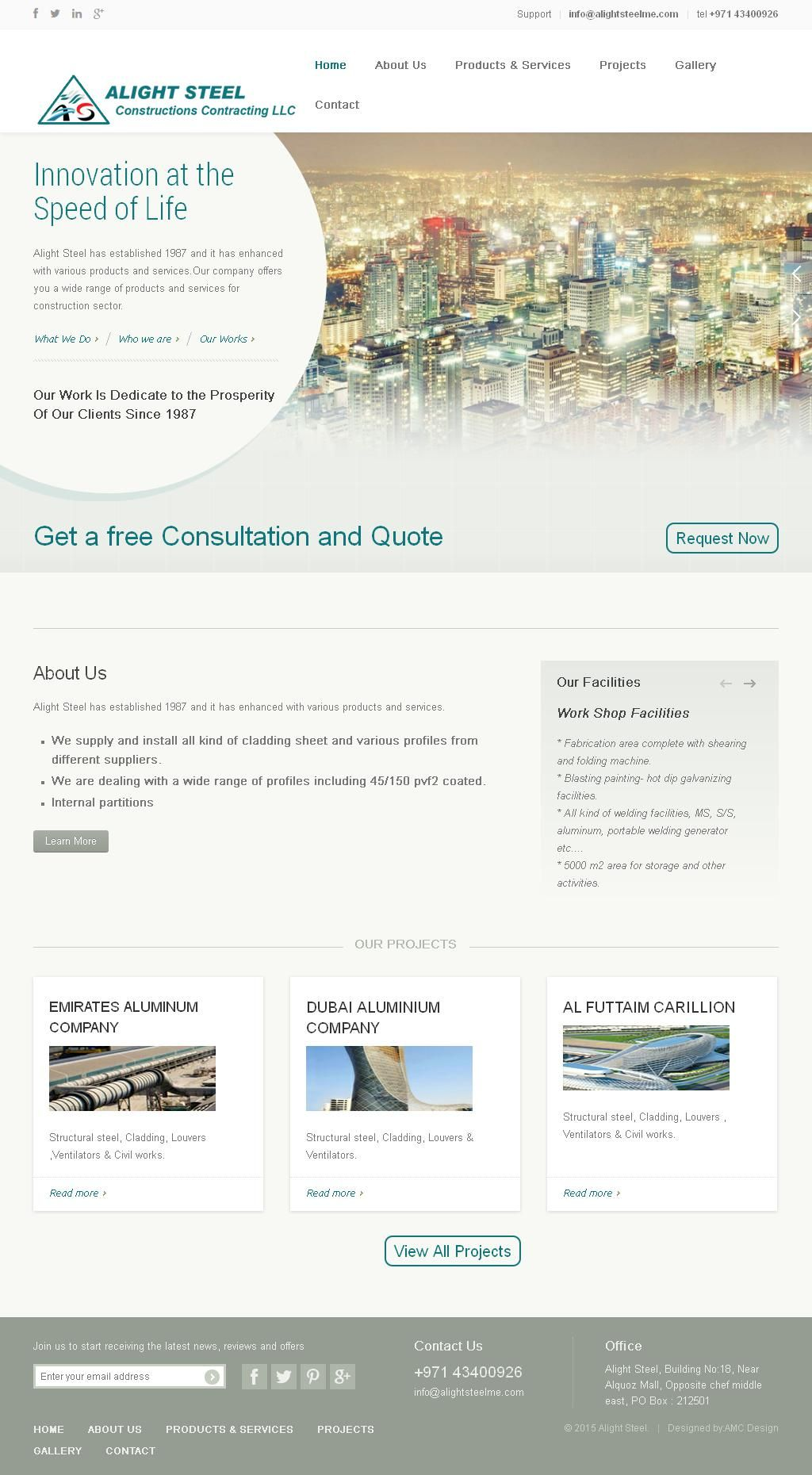 Alight Steel Construction Contracting, Llc Ali Abdullah