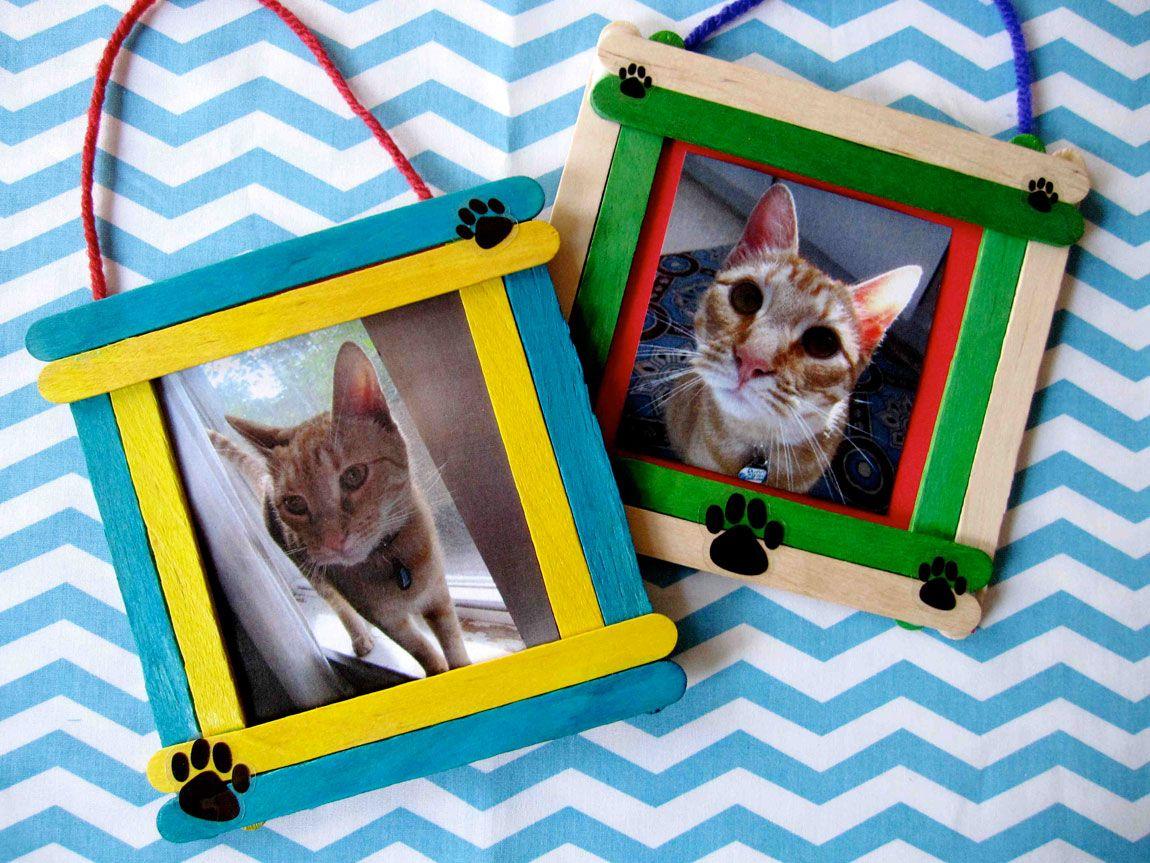 Photo Frame Craft Design For Pet