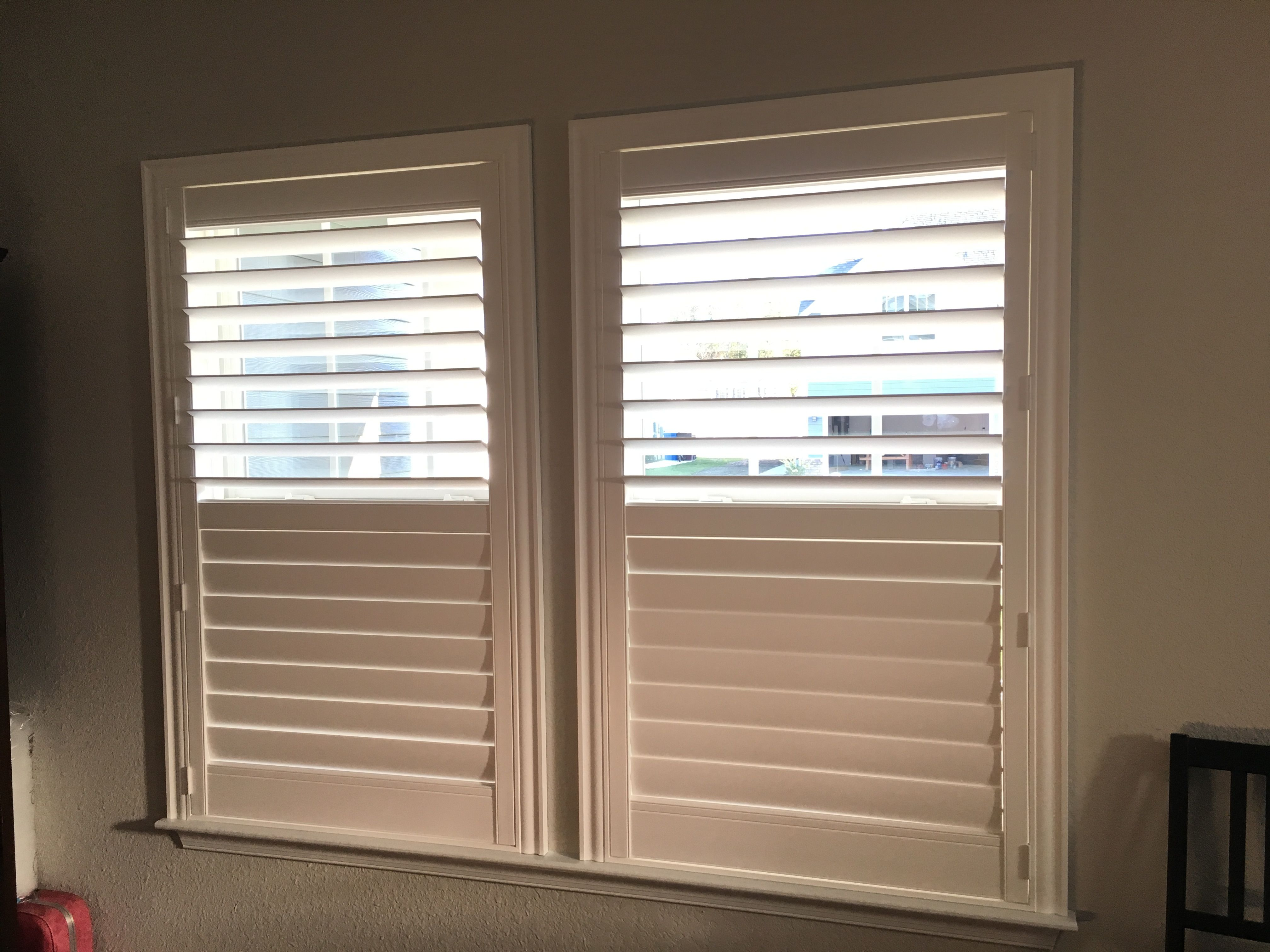 Eclipse Plantation Shutters 3 1 2 Inch Louver With