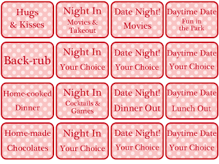 Romantic coupon book ideas
