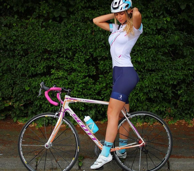 Womens Cycling Jersey Cyclingclothingroad Cycling Outfit