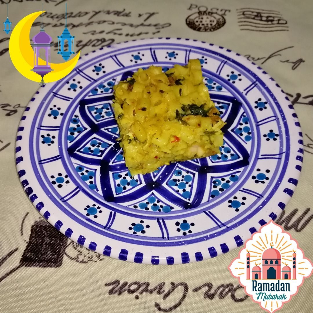 Tunisian Pasta Tajine Recipe Tajine Makrouna طريقة تحضير طاجين المعكرونة على الطريقة التونسية Ramadan Ramadan Mubarak