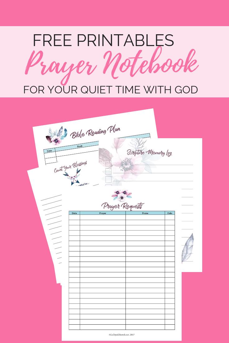 Free Social Media Printables Prayer Journal Template Prayer Journal Printable Bible Study Printables
