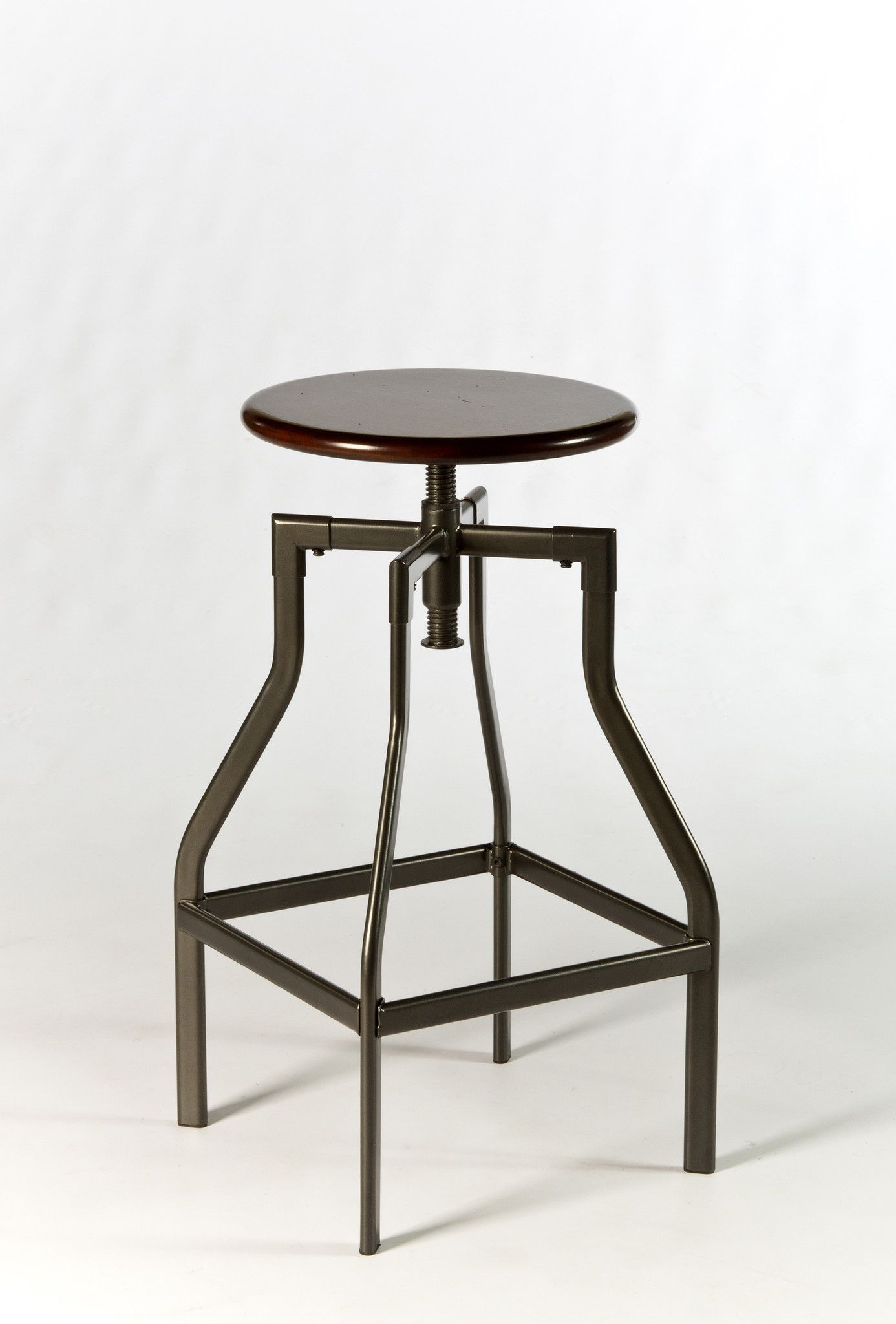 Hillsdale Cyprus Adjustable Backless Stool at Harvey & Haley