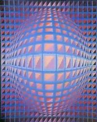 2401 ESSAK by Victor Vasarely