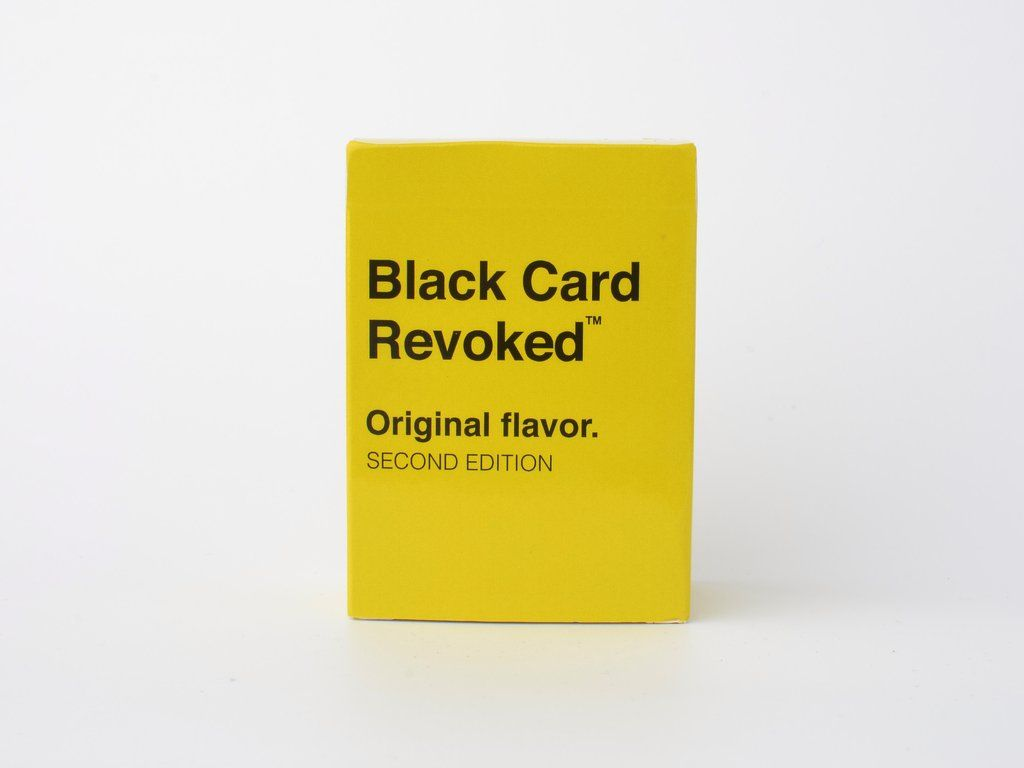 Black card revoked second edition black card this or
