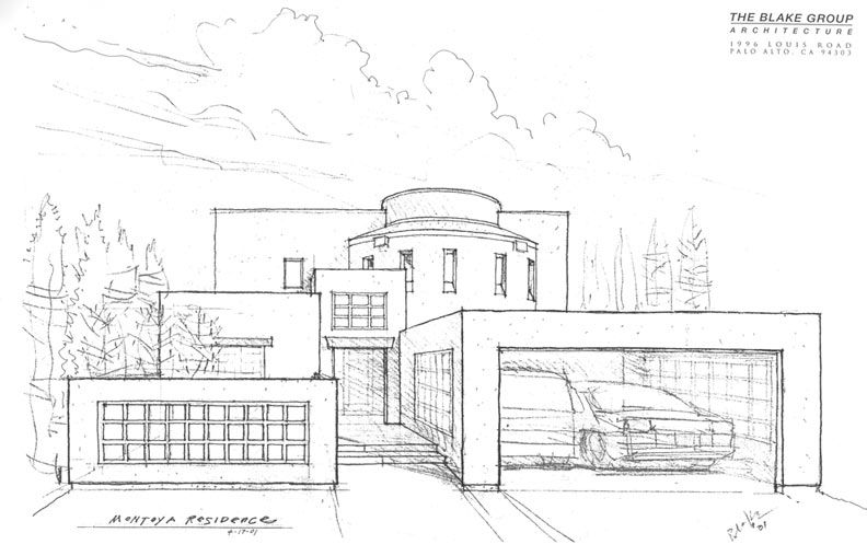 Modern Architecture Drawing modern mansion drawing #bigarchitects pinnedwww.modlar