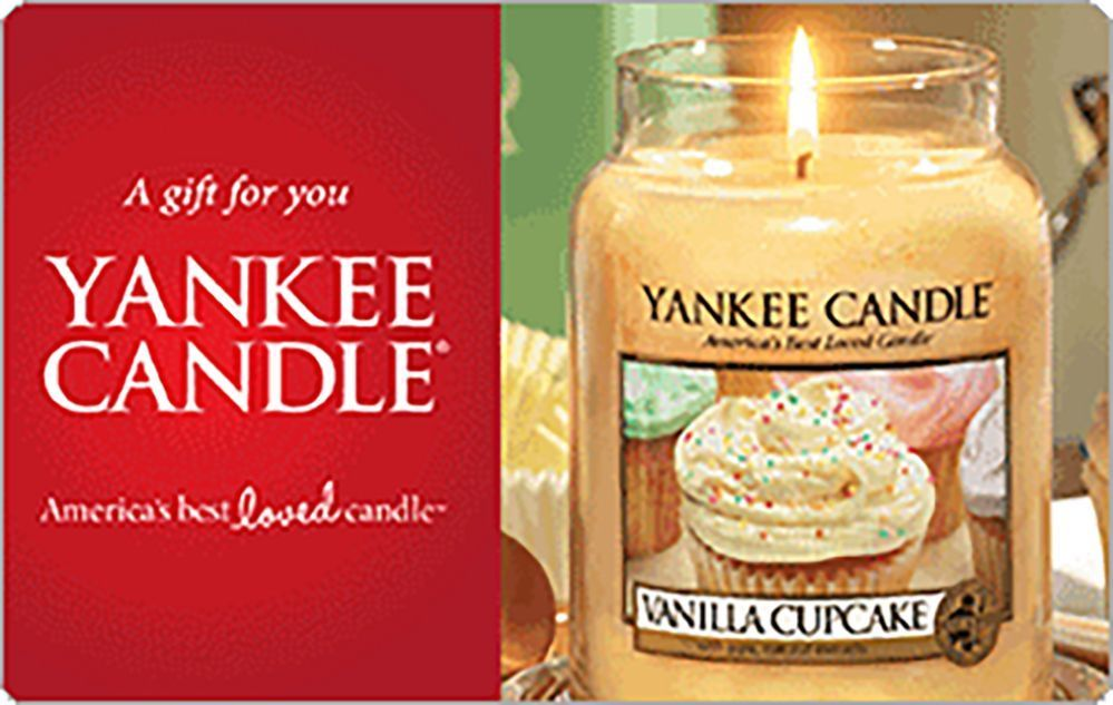 Details about yankee candle gift card 25 50 or 100