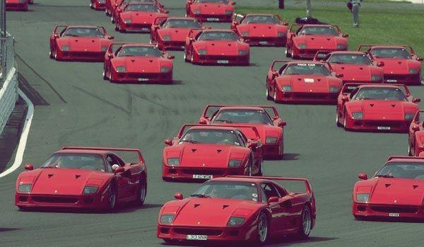 #Red Party #Ferrari