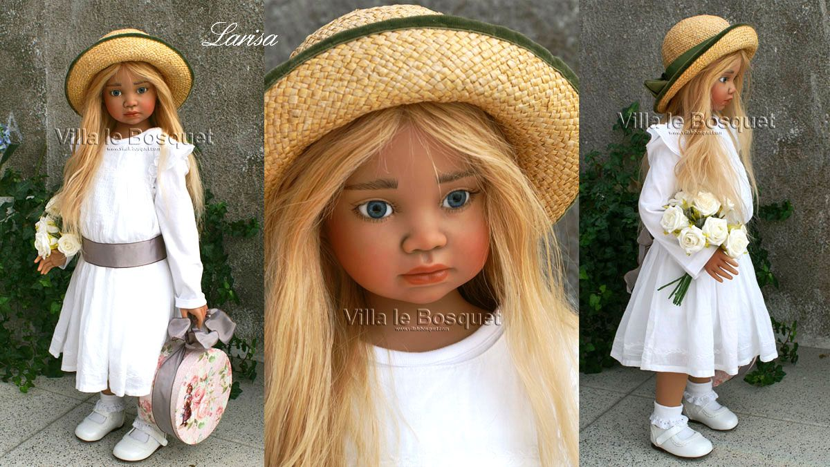 ANGELA SUTTER DOLL LARISA - artist doll by Angela Sutter