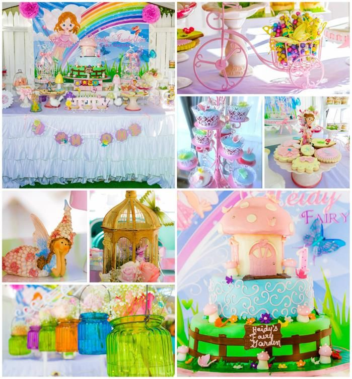 Magical Fairy Garden 1st Birthday Party with Such Cute Ideas via Kara's Party Ideas | KarasPartyIdeas.com #Fairies #Butterflies #Enchanted #Party #Ideas #Supplies (1)