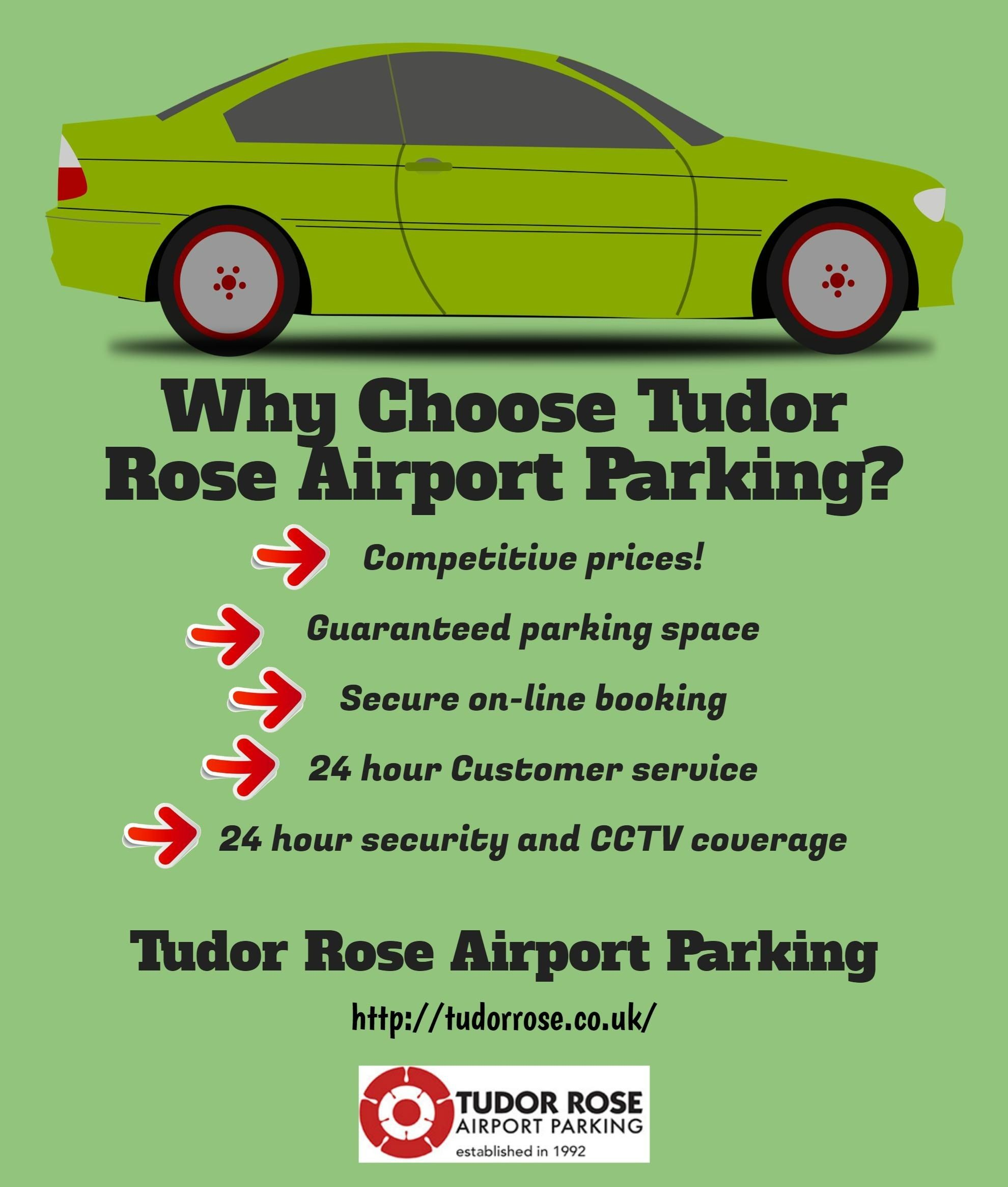 Why Choose Tudor Rose Airport Parking Car Parking Gatwick