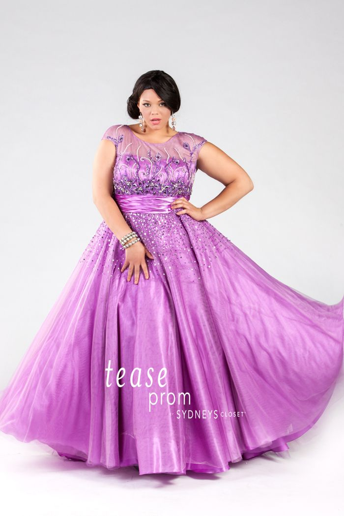 We just received our incredible collection of plus size prom dresses ...